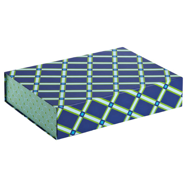 Allure Collapsible Box Geo Blue