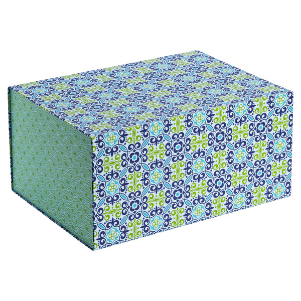 Allure Collapsible Box Flora Blue