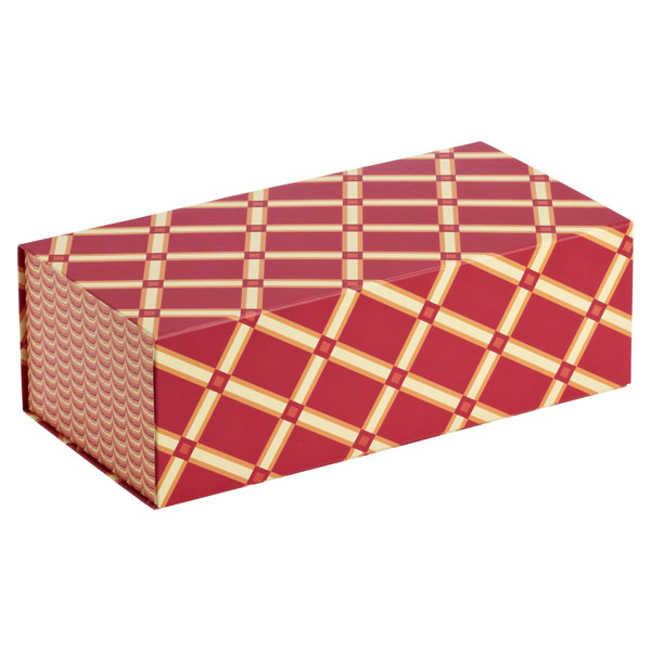 Allure Collapsible Box Geo Red