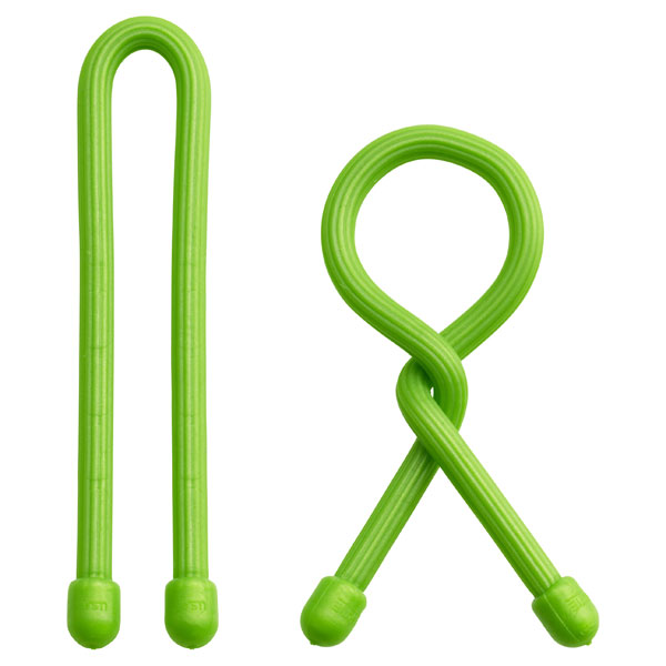 "6"" GearTie® Twist Tie Lime Green Pkg/2"