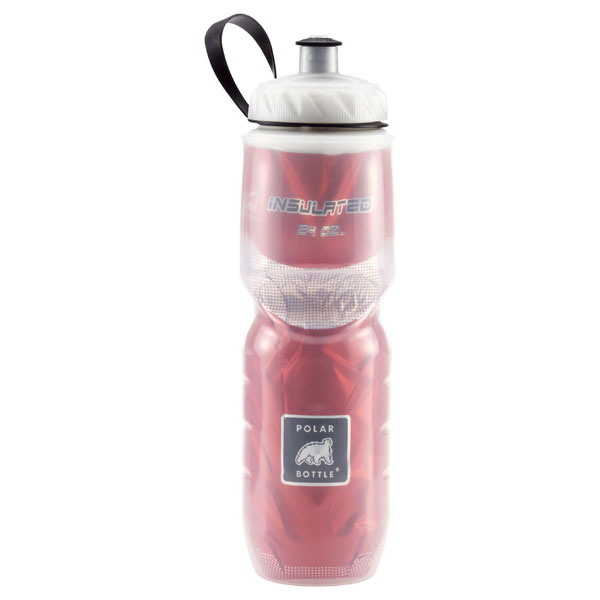 24 oz. Insulated Polar Bottle™ Red