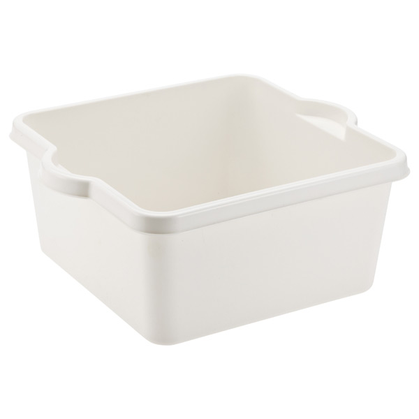 Dish Pan White