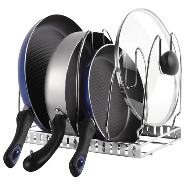 Cookware Organizer Chrome