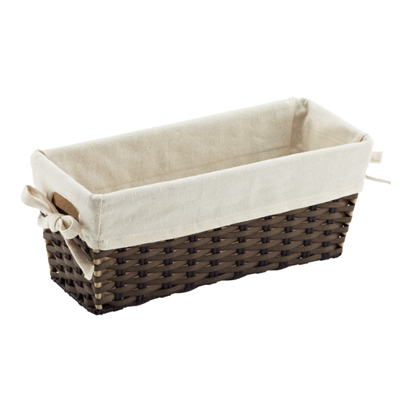 Rectangle Montauk Bin w/ Liner Brown