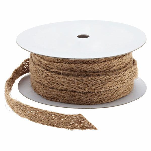 Ribbon Jute Weave Natural
