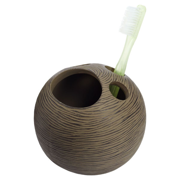Sedona Toothbrush Holder Brown