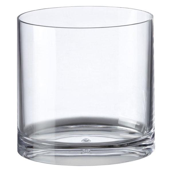 Clear Acrylic Oval Trash Can The, Glass Bathroom Trash Can