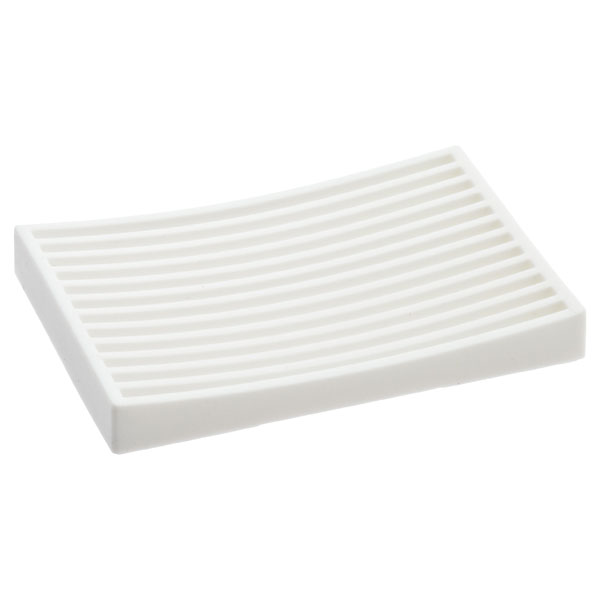 Silicone Soap Dish White