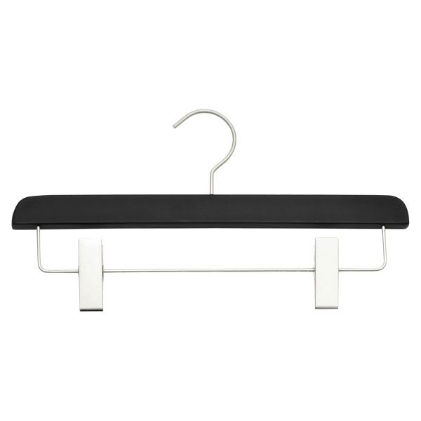 Soft Matte Skirt Hanger Black