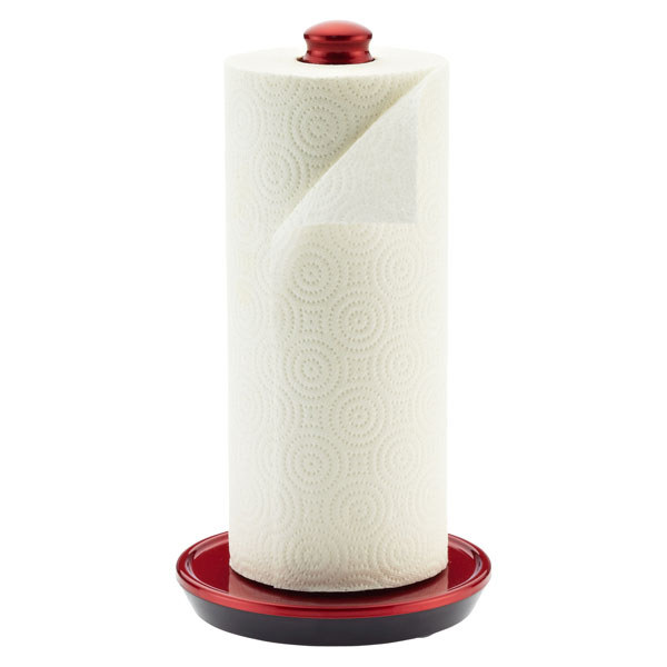 Perfect Tear® Paper Towel Holder Red