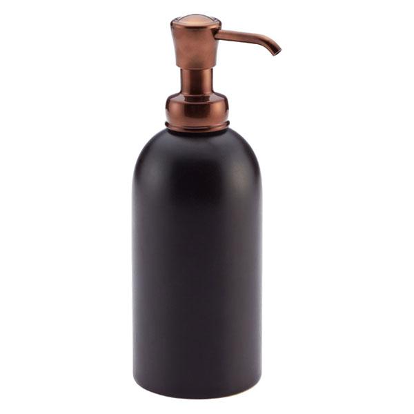 11 oz. Ceramic Soap Pump Bronze