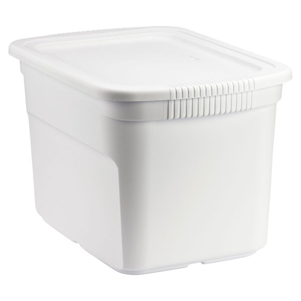 Tote Box White ...  sc 1 st  The Container Store & White Tote Box Cases | The Container Store