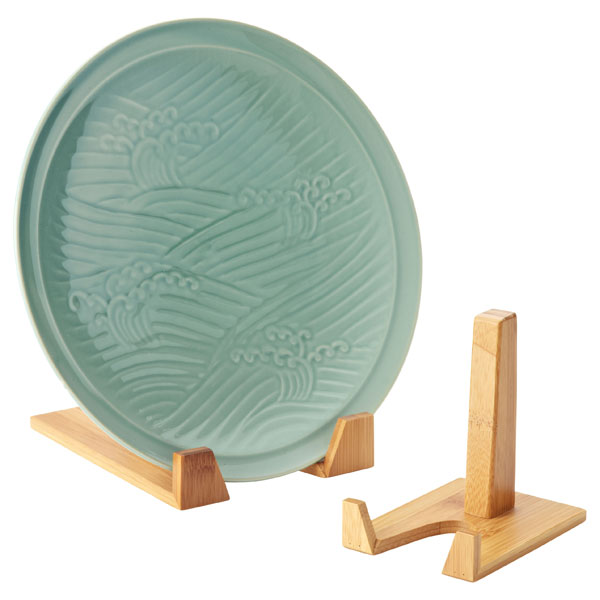 Bamboo Plate Stands ...  sc 1 st  The Container Store & Bamboo Plate Stands | The Container Store