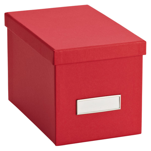 Bigso™ Stockholm CD Box Red
