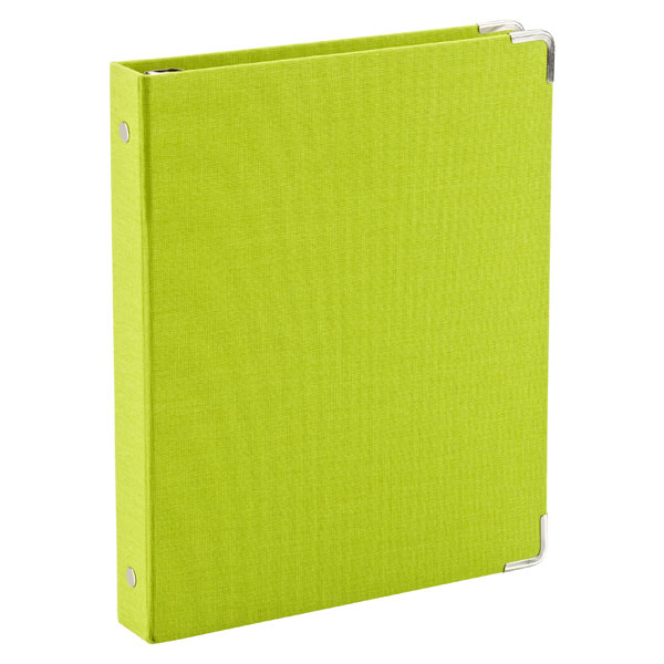 Mini Three-Ring Binder Lime