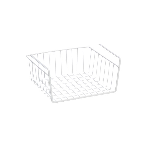 Small Undershelf Basket White