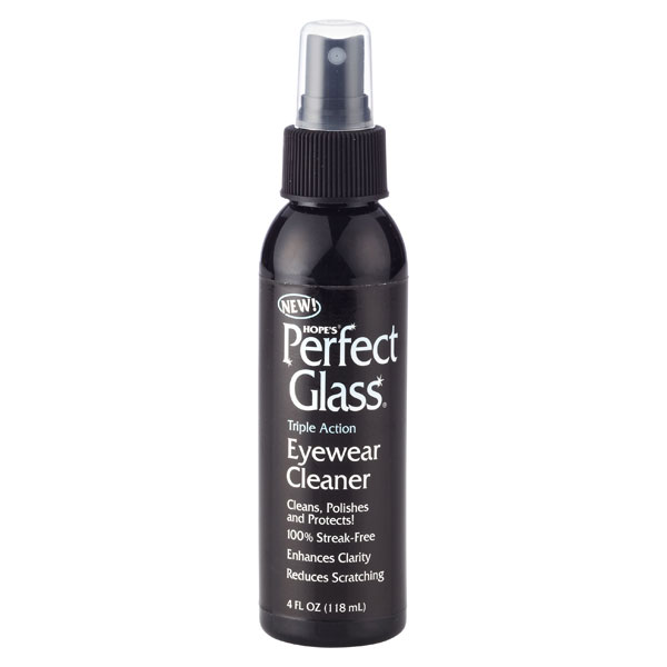 Hope's Eyewear Cleaner Black