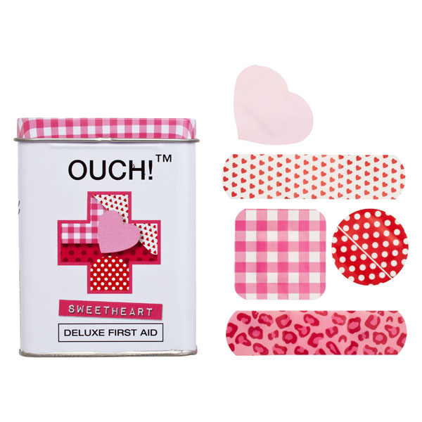 OUCH!™ Bandages Sweetheart Pkg/24