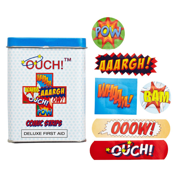 OUCH!™ Bandages Comic Strip Bandages Pkg/24