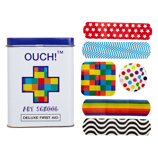 OUCH!™ Bandages Art School Pkg/24