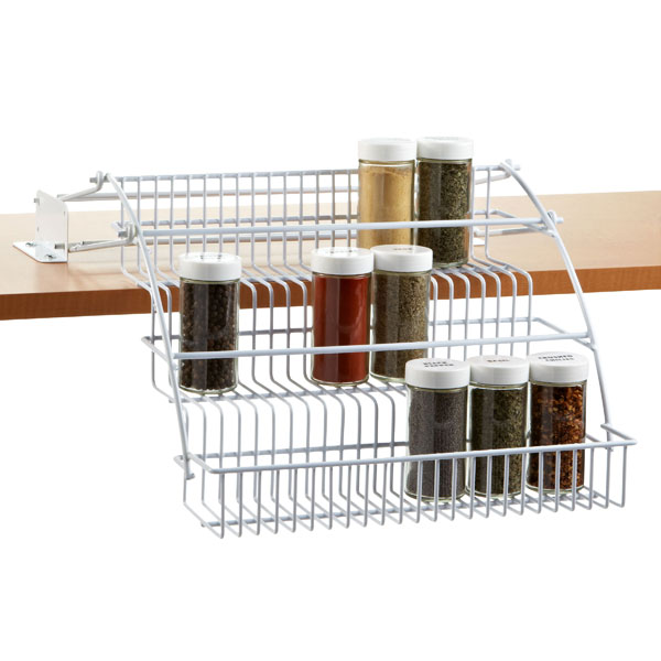 pull out spice rack rubbermaid pull down spice rack pot and pan cabinet organizer home depot cabinets design