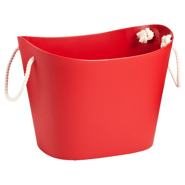 Large Balcolore Tub Red