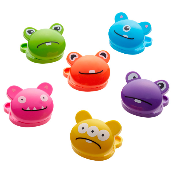 Monster Bag Clips Multi Pkg/6
