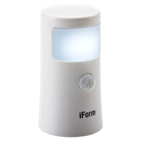LED Motion Sensor Bath Light!™ White