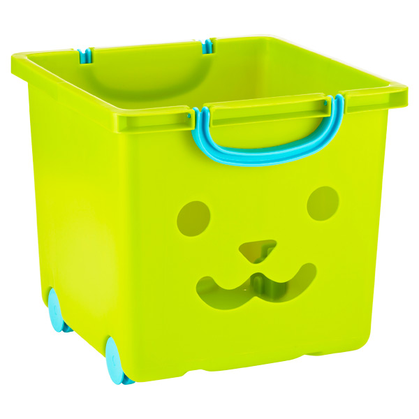 Kid's Stacking Basket Green