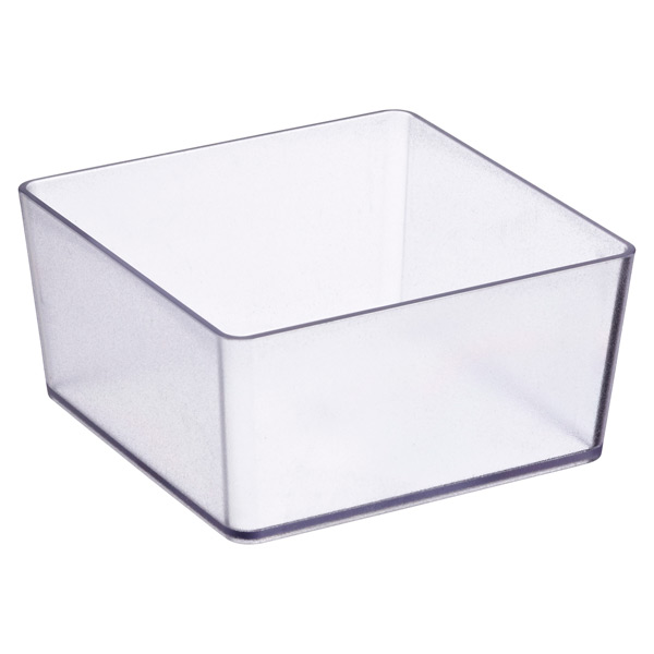 elfa utility Square Box Translucent