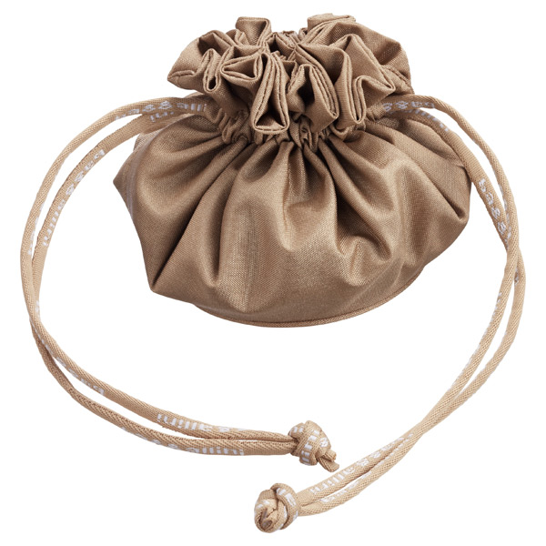 Drawstring Jewelry Pouch Champagne