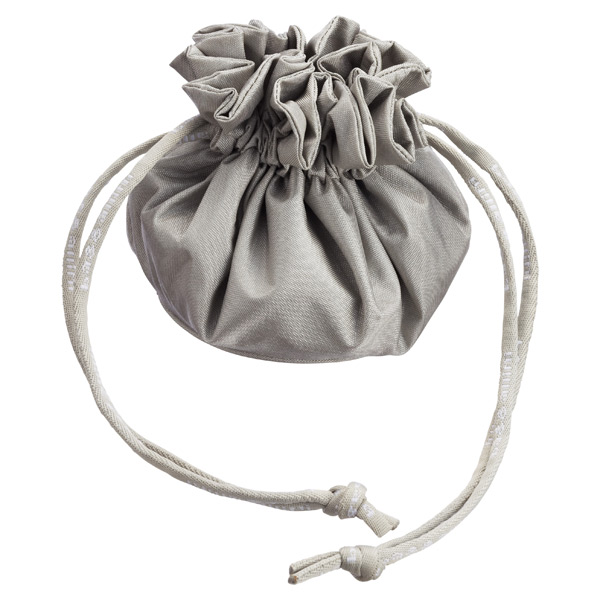 Drawstring Jewelry Pouch Silver