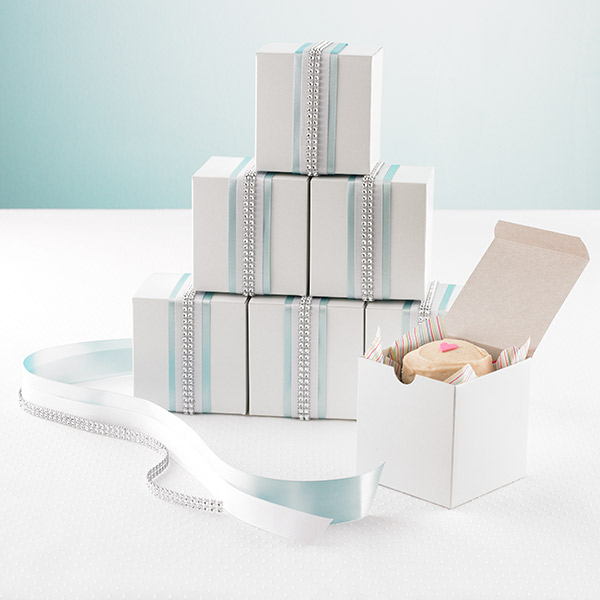 White 1-Piece Rectanglar Gift Boxes