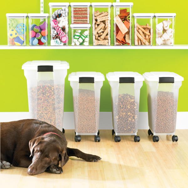 Iris Pet Food Containers The Container Store