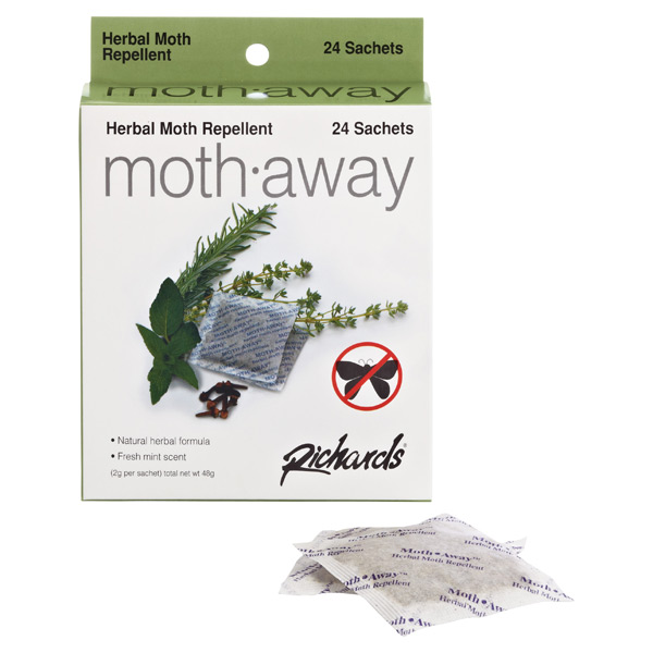Moth-Away™ Repellent Sachets Pkg/24