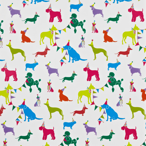 birthday bow wow wrapping paper the container store