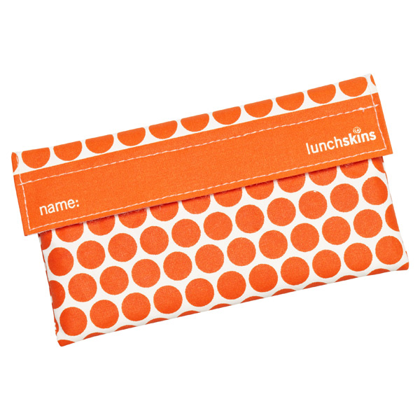 lunchskins® Snack Bag Tangerine Dot