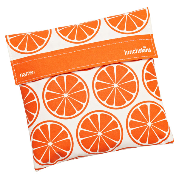 lunchskins® Sandwich Bag Tangerines