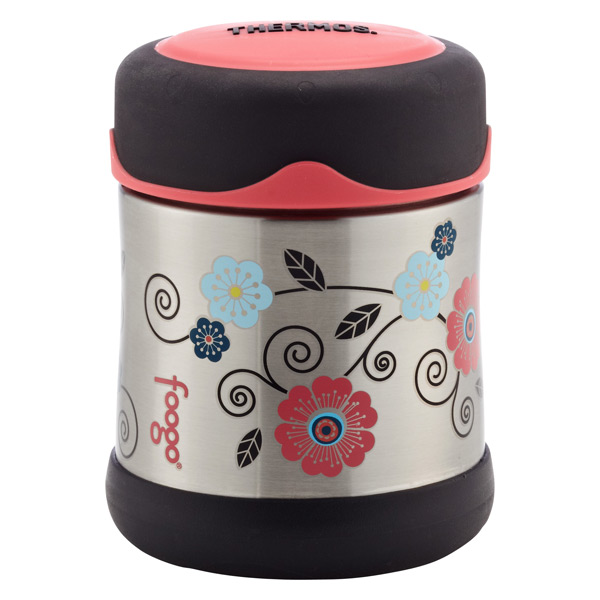 10 oz. Vacuum Insulated Food Jar Poppy Patch