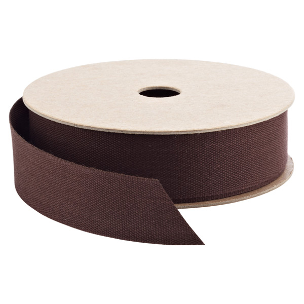 Ribbon Cotton Chocolate