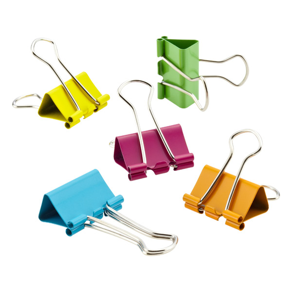 Binder Clips Assorted Pkg/20