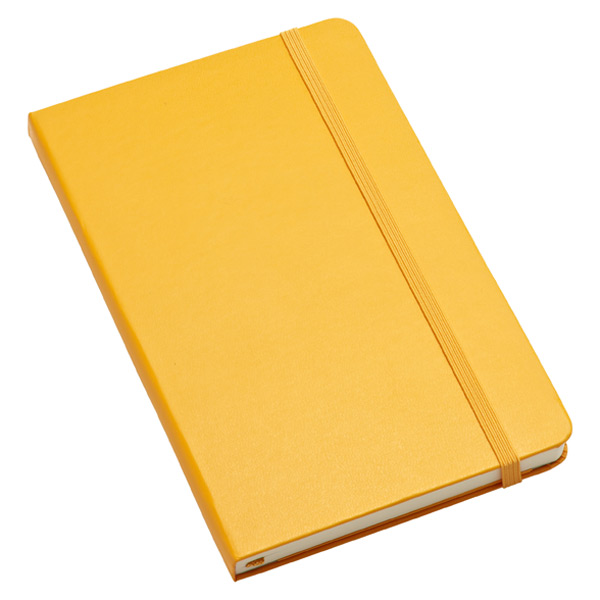 Large Moleskine® Ruled Notebook Yellow
