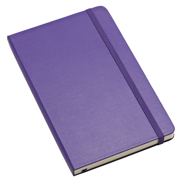 Large Moleskine® Ruled Notebook Violet