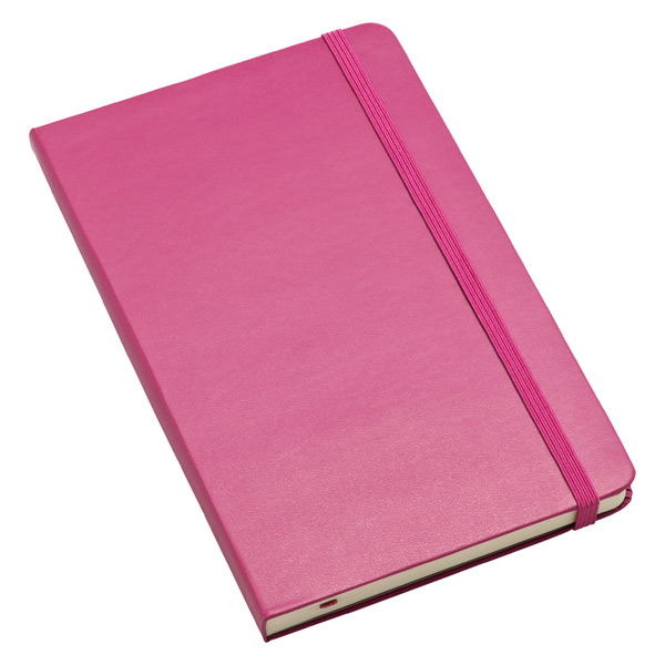 Large Moleskine® Ruled Notebook Magenta