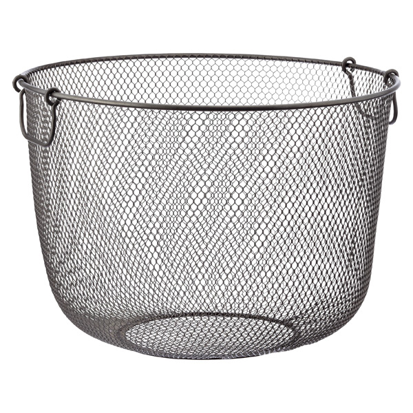 Industrial Mesh Basket Clear Coat
