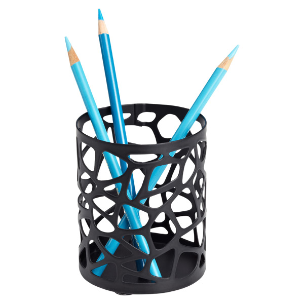 Nest Pencil Cup Black