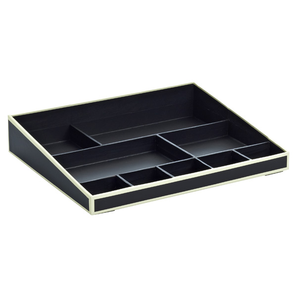 Desktop Organizer Black