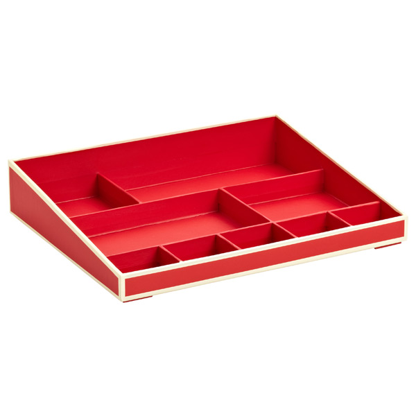 Desktop Organizer Red