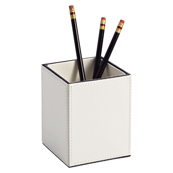 Mercer Pencil Cup Ivory/Black