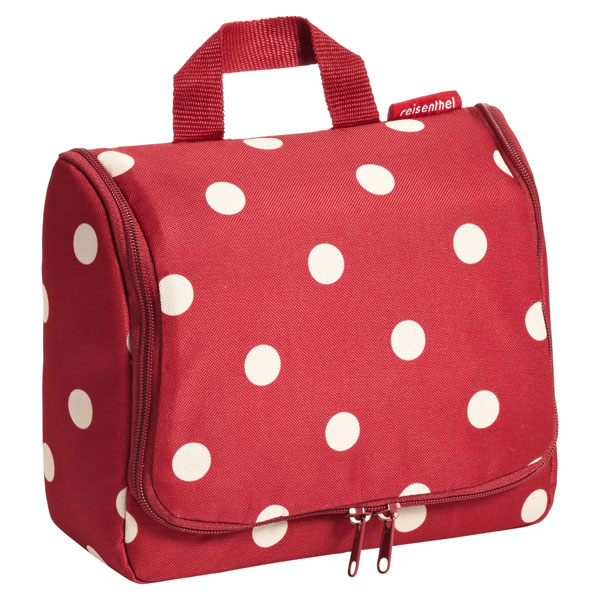 reisenthel® Hanging Toiletry Organizer Ruby Dots